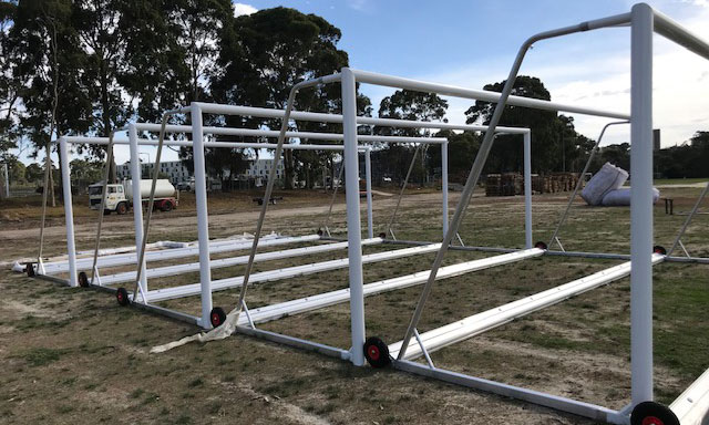 Non Compliant Portable Soccer Goals