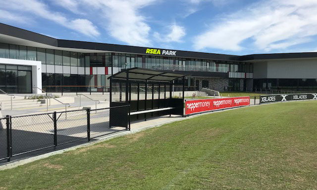 Abel offers real shelter for Australian sports grounds.