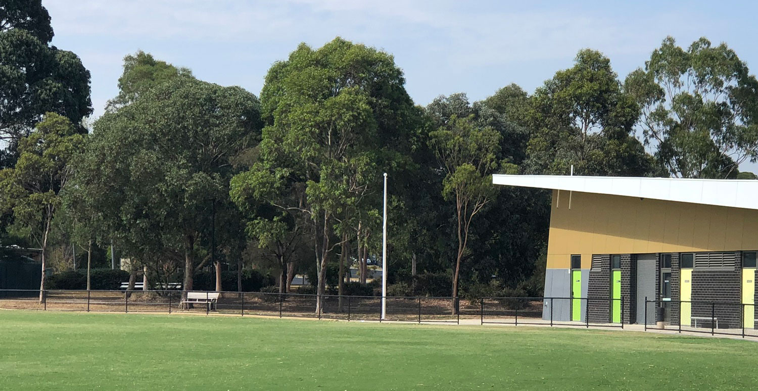 New Flagpoles at Hurlingham Oval