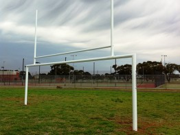 Rugby / Soccer Goal Post Combo