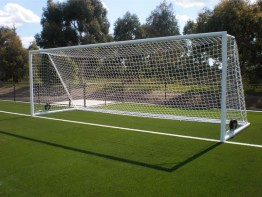 Senior Portable & P-Shaped Soccer Nets