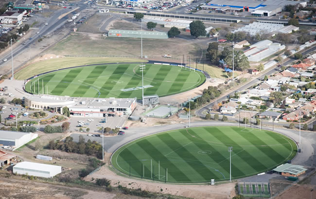AFL Footy on track for Ballarat in 2017